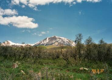 Mt. Peale (center) and Mt....