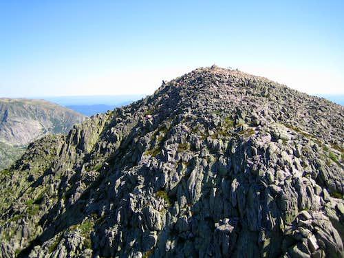 Pamola from Chimney Peak