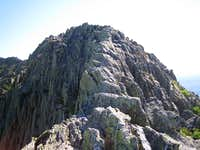 a narrow section