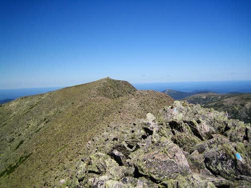 Baxter Peak from South Peak