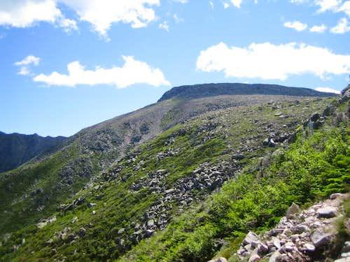 where the Saddle trail