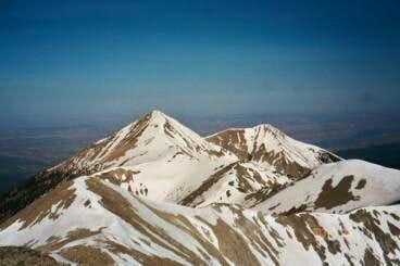 The entire 2.0 miles ridge...