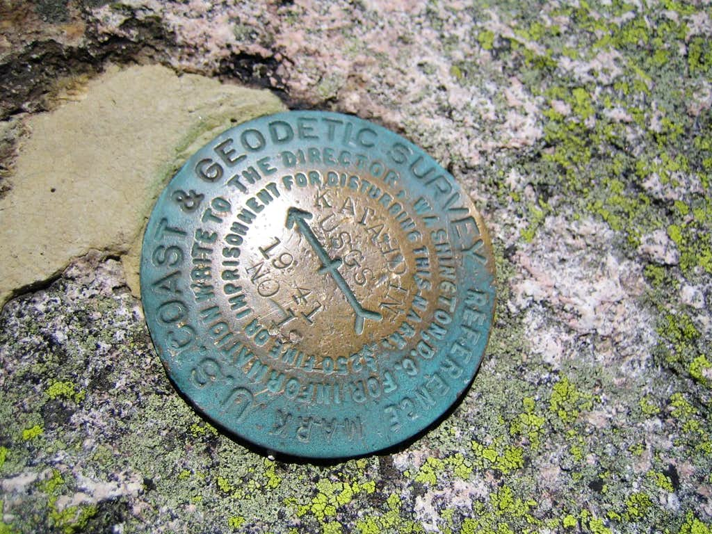 Katahdin Bench Mark