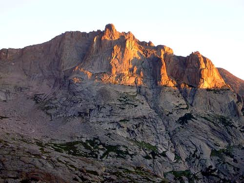 Alpenglow on the South Face