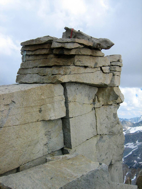 Mt. Darwin summit block