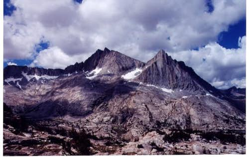 Seven Gables and Peak 12640...
