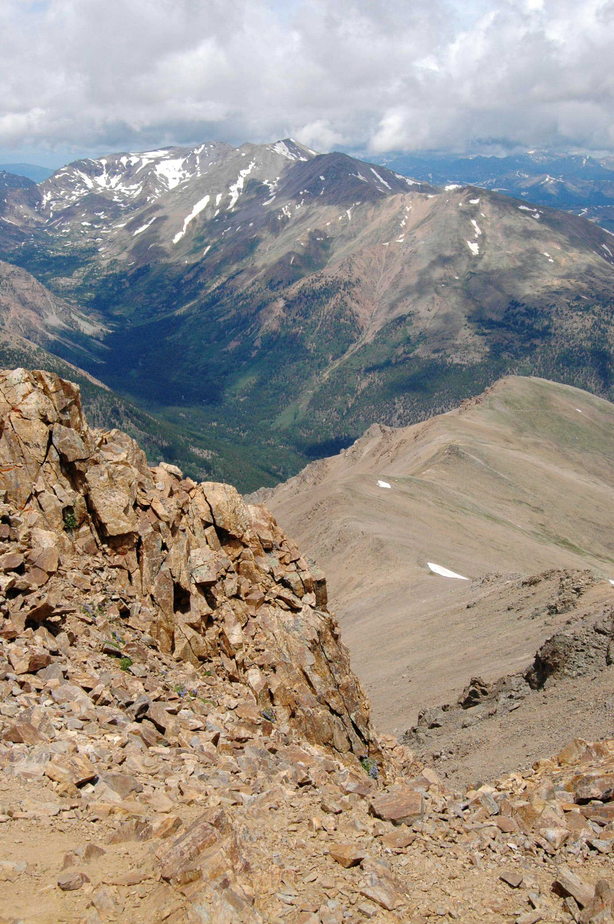 Seven Steps And Three Breathes: Our Oddesey To The Top of the Rockies