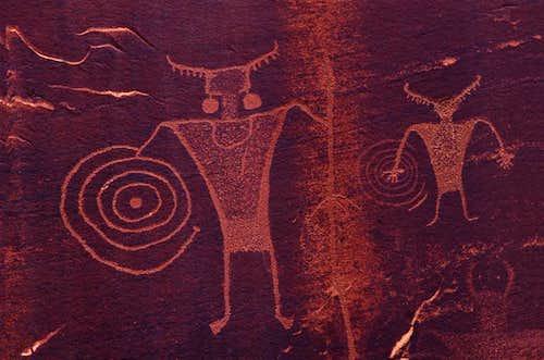 Petroglyph.