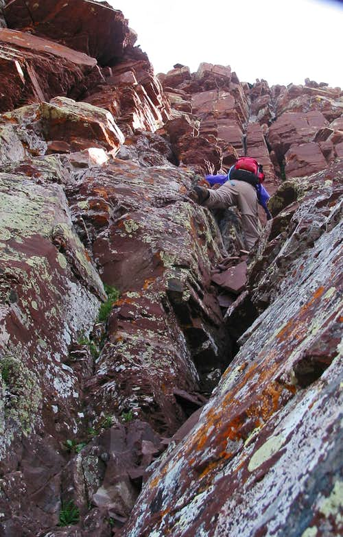 Bells traverse climbing