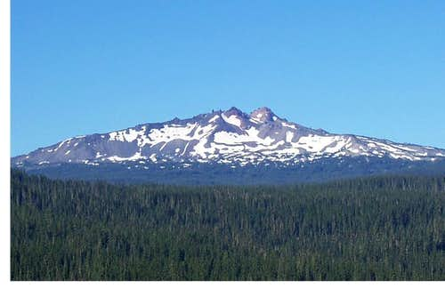 Diamond peak/Willamette pass
