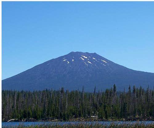 Mt bachelor/ Lava lake