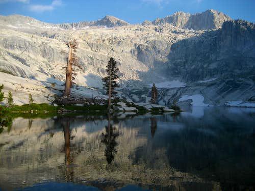 Alta Peak from Pear Lake