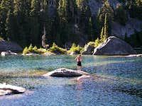 A Swim in Tuck Lake