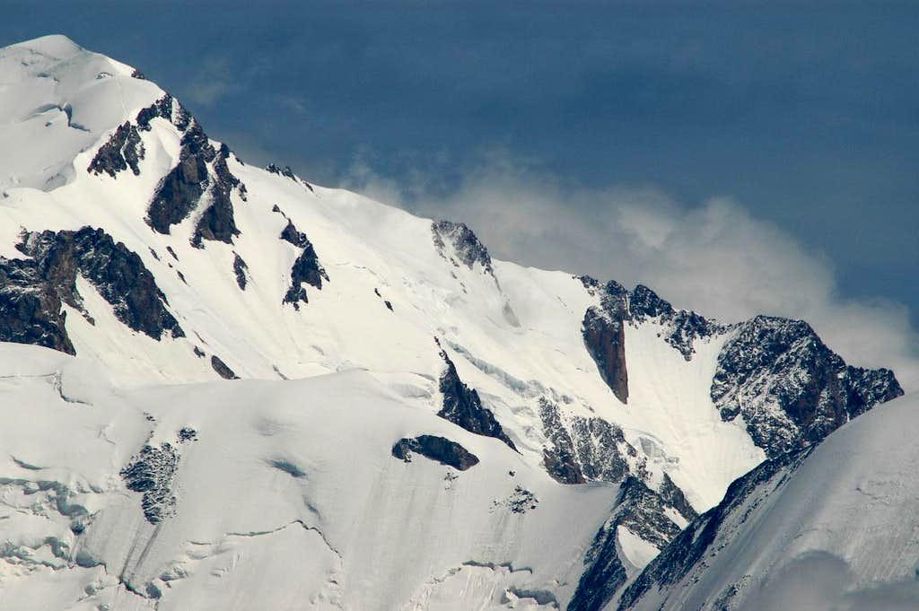 Mont Blanc south-east ridge
