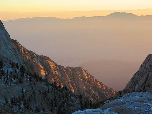 Dawn on the Whitney Trail....
