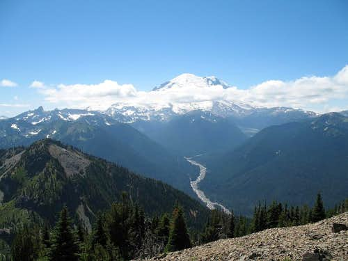 Mt .Rainier from Crystal Mtn