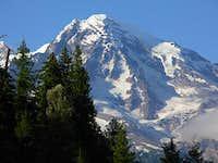 Mt. Rainier from Kautz creek