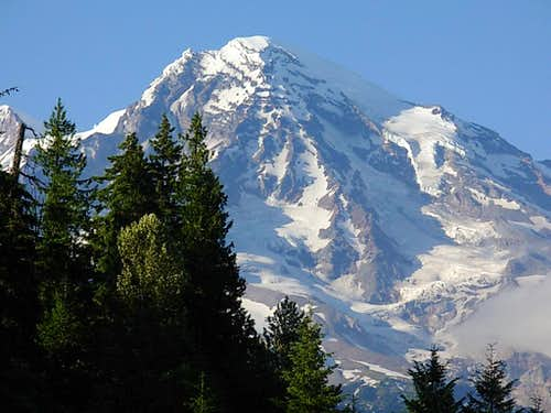 Mt. Rainier from Kautz creek