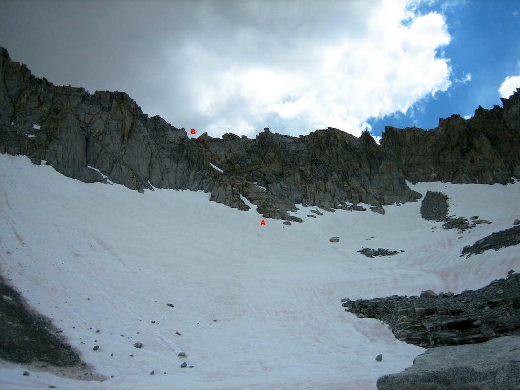 Mt. Darwin West Ridge