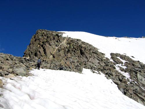 Summit Ridge of Gannett Peak