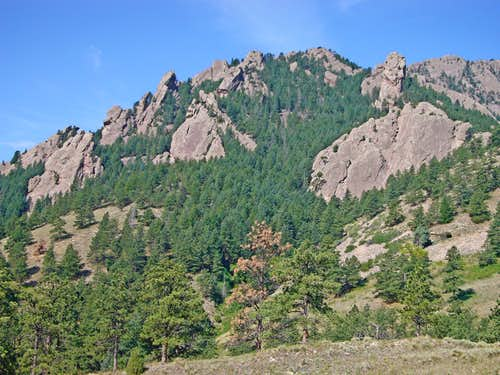 Dinosaur Mountain from the East