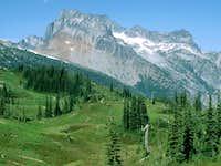 Bonanza Peak from the Upper Lyman Basin