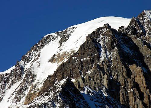 Il versante sud del Monte Bianco