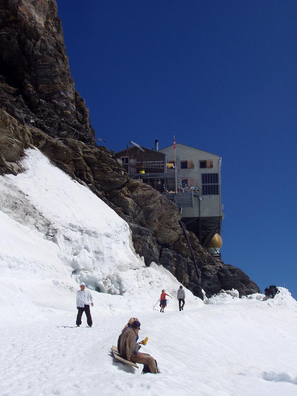 The Mönchjochshütte