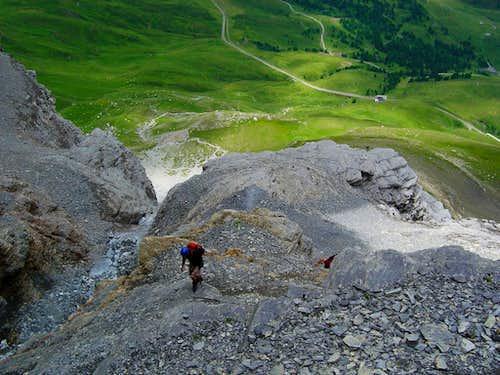 Eiger, Rotstock Via Ferrata