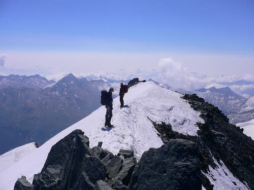 Summit ridge Allinhorn