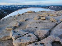 On top of Half Dome at...