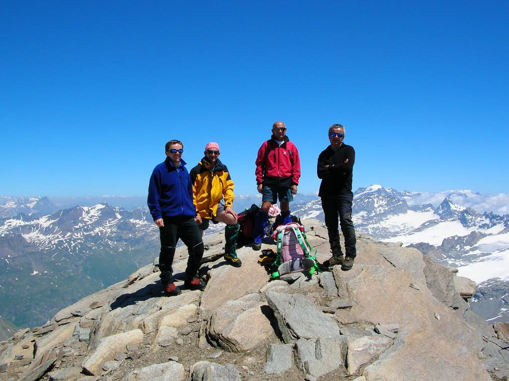 Albaron di Savoia - Summit
