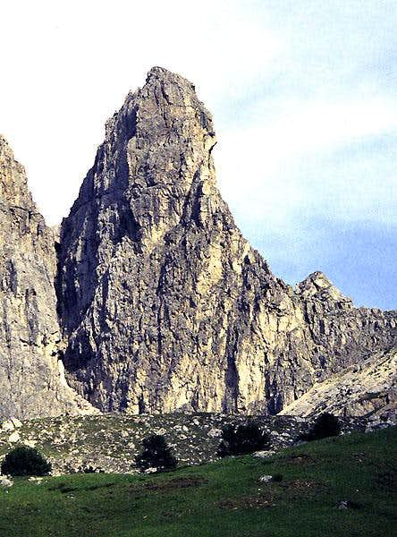 The First Sella Tower from the northwest