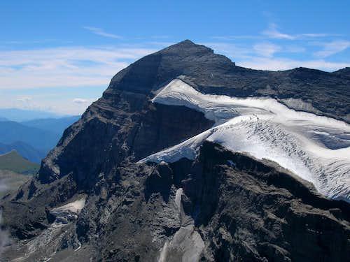 Terrarossa view from the top: Monte Leone
