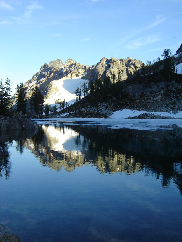 Reflection on Wing Lake