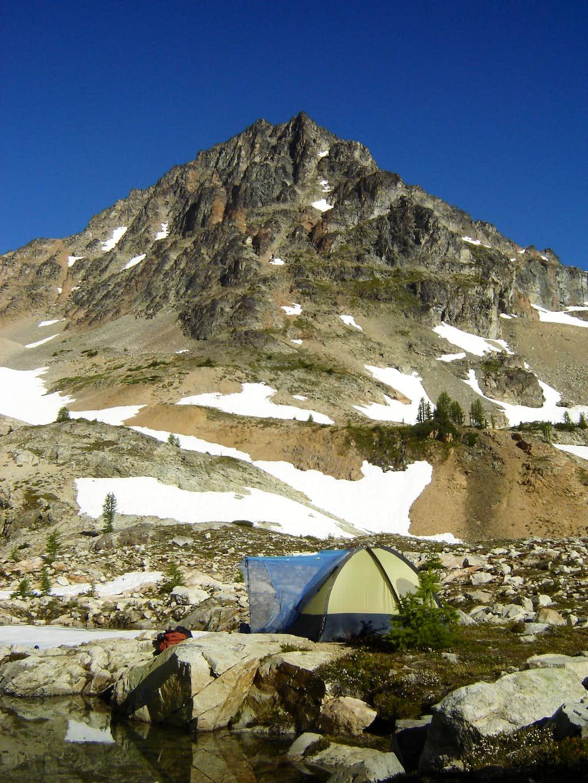 Camp at Wing Lake
