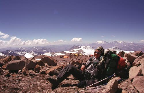 Camp 2, Aconcagua Jan 04
