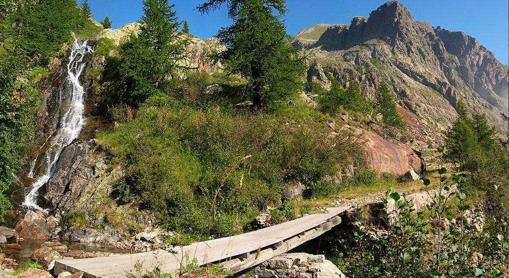 Bridge in the Maritime Alps Nat. Park