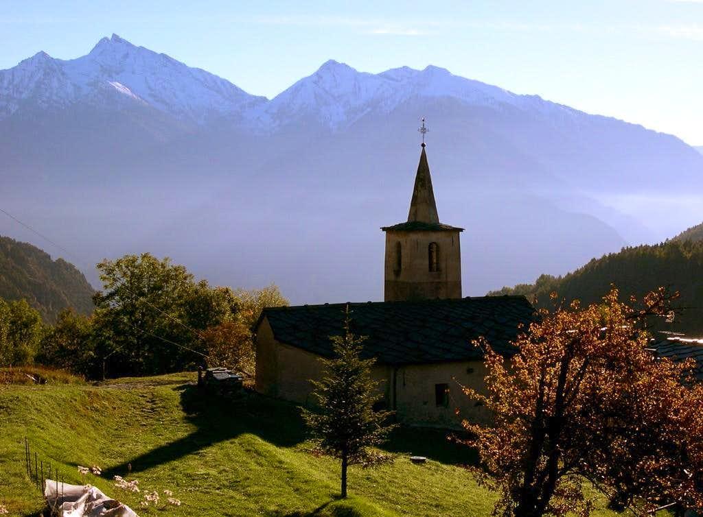 The church of La Volla