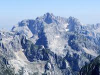 Skrlatica from summit of Kanjavec