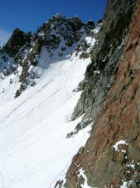 route to summit