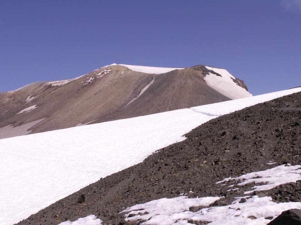 Mt. Adams summit view from the false summit