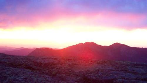 Sunrise viewed from Chasm...