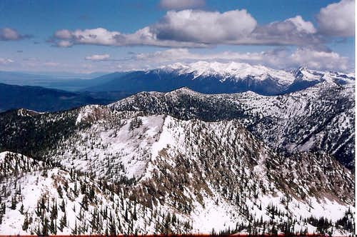 View of Mission Range
