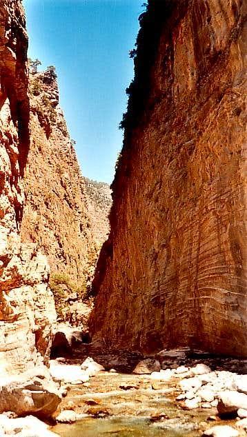 Gorge of Samaria (july 2002)