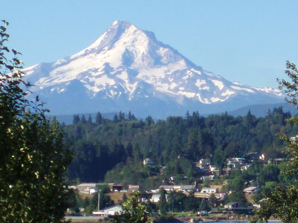 Mt. Hood from the WA side of the Columbia river.........
