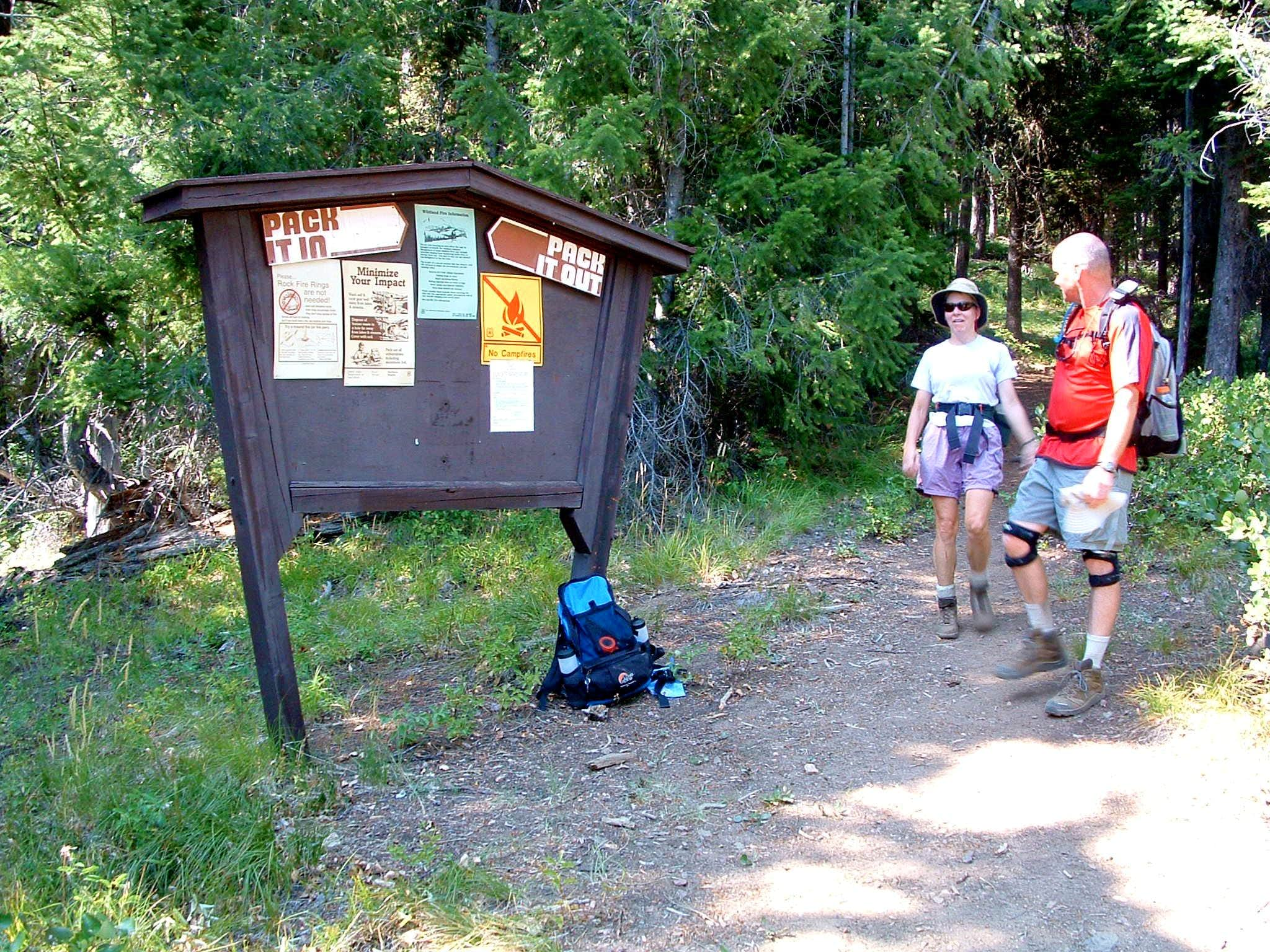 Trapper Peak Trailhead