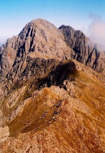 View from Waaihoek Peak. The...