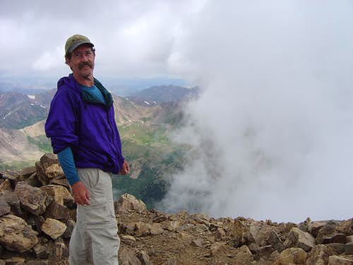 Summit of Mt Elbert