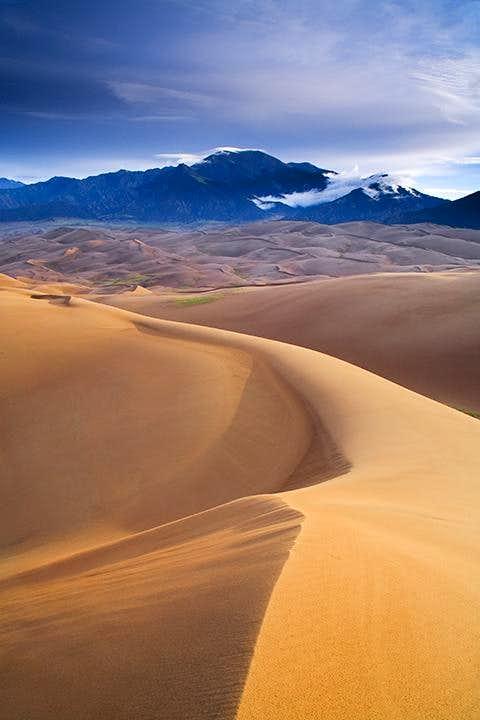 Dunes and Sangre de Cristo Mountains